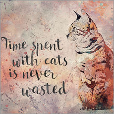 Wandsticker  Time with Cats - Andrea Haase
