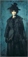 Wandsticker  Madame Laura Leroux - Jean-Jacques Henner