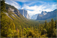 Gallery Print  Yosemite Valley, USA - Jan Schuler
