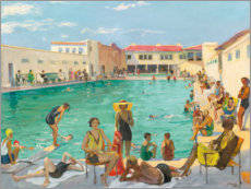 Premium-Poster  Winter in Florida - Sir John Lavery