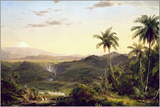 Gallery Print  Cotopaxi - Frederic Edwin Church