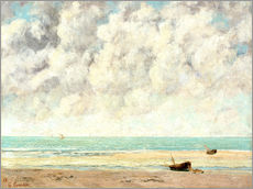 Gallery Print  Ruhige See - Gustave Courbet