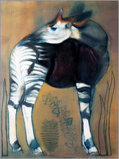 Gallery Print  Okapi - Mark Adlington