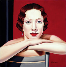 Wandsticker  BERLIN 1924 - Catherine Abel