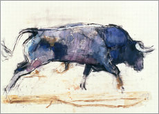 Gallery Print  Galoppierender Stier - Mark Adlington