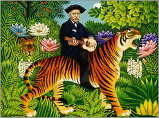 Gallery Print  Henry Rousseau's Traum - Frances Broomfield