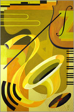 Wandsticker  Jazz, 2004 - Carolyn Hubbard-Ford
