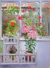 Gallery Print  Im Wintergarten - Timothy Easton
