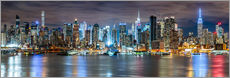 Gallery Print  NEW YORK CITY - Skyline Panorama - Sascha Kilmer