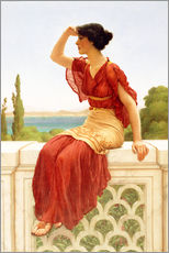Gallery Print  Das Signal - John William Godward