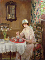 Gallery Print  Nachmittagstee - William Henry Margetson