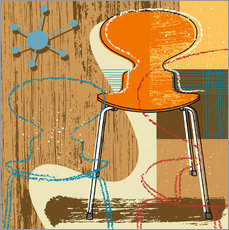 Wandsticker  Ant Chair - Thomas Marutschke