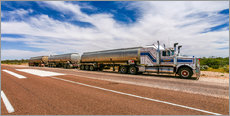 Gallery Print  Road Train Australia - Thomas Hagenau