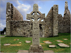 Gallery Print  Clonmacnoise in Irland - The Irish Image Collection