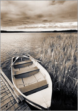 Gallery Print  Boot im Burntstick Lake - Darwin Wiggett