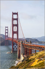 Gallery Print  Golden Gate Bridge in San Francisco - Leah Bignell