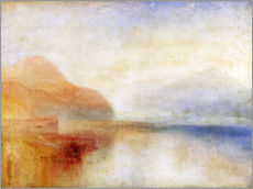Gallery Print  Inverary Pier - Joseph Mallord William Turner