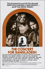 Wandsticker  THE CONCERT FOR BANGLADESH