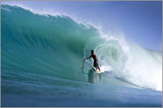 Gallery Print  Surfen im Traum Welle - Paul Kennedy