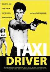 Wandsticker  Taxi Driver Filmplakat - Entertainment Collection