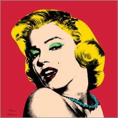Wandsticker  Marilyn Monroe - Mark Ashkenazi