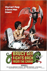 Wandsticker  Bruce Lee Fights Back from the Grave - Entertainment Collection