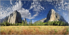 Wandsticker  Yosemite Valley - El Capitan - Michael Rucker