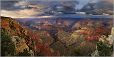 Wandsticker  Grand Canyon Blick - Michael Rucker