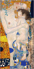 Leinwandbild  Mutter mit Kind - Gustav Klimt