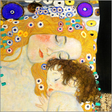 Gallery Print  Mutter mit Kind - Gustav Klimt