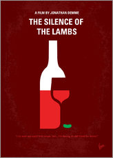 Wandsticker  The Silence Of The Lambs - chungkong