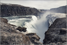 Wandsticker  Gulfoss - Images Beyond Words