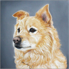 Gallery Print  Spitz - Lisa May Painting
