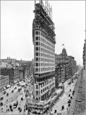 Gallery Print  New York City 1903, Flatiron Building im Bau - Sascha Kilmer