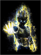 Gallery Print  Vegeta Fury - Barrett Biggers