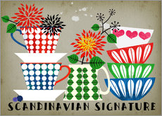Wandsticker Scandinavian Signature