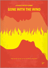 Wandsticker  Gone With The Wind - chungkong