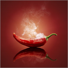Wandsticker  Red Hot Chili Stillleben - Johan Swanepoel