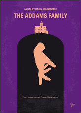Wandsticker The Addams Family
