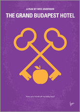 Gallery Print  No347 My The Grand Budapest Hotel minimal movie poster - chungkong