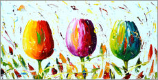 Gallery Print  Tulips Light - Theheartofart Gena