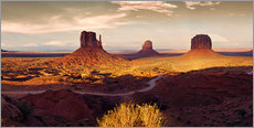 Gallery Print  Monument Valley Gold - Michael Rucker