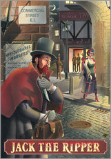 Gallery Print  Jack the Ripper - Peter Green's Pub Signs Collection