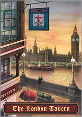 Gallery Print  The London Tavern - Peter Green's Pub Signs Collection