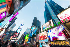 Gallery Print  Times Square - beliebtester Ort in New York