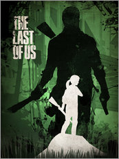 Wandsticker  The Last Of Us - Albert Cagnef