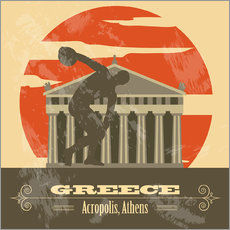 Gallery Print  Griechenland - Akropolis