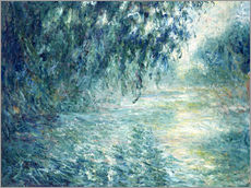 Wandsticker  Morgen an der Seine - Claude Monet