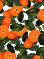Gallery Print  Orange Pattern - Uma 83 Oranges