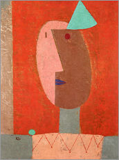 Wandsticker  Clown - Paul Klee